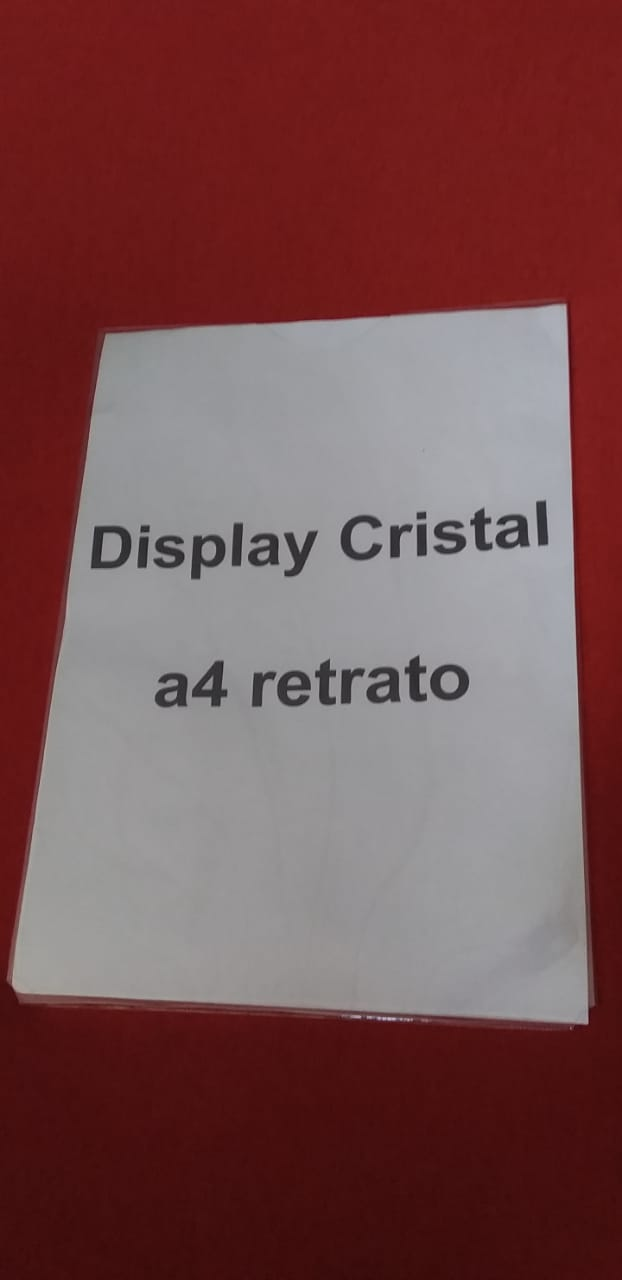 Display porta folha a4