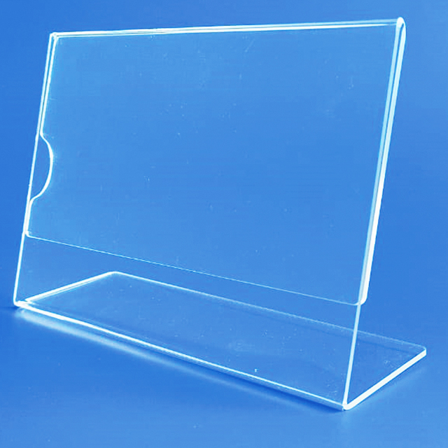 Display acrílico cristal L 10×15