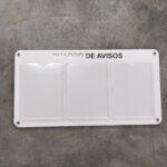 Quadro De Avisos Gestão À Vista 3 Displays A4